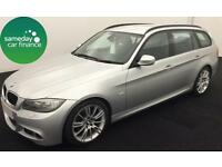 £245.91 PER MONTH SILVER 2012 BMW 318D 2.0 M SPORT TOURING DIESEL MANUAL