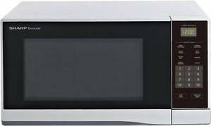 microwave - Sharp r330ys 1100w silver - Used condition Gordon Park Brisbane North East Preview