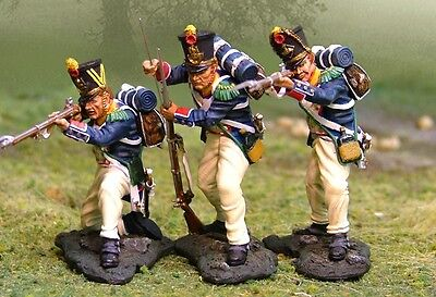 THE COLLECTORS SHOWCASE FRENCH NAPOLEONIC CS00371 VOLTIGEURS FIRING MIB