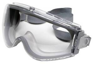 Like-New UVEX Grey Safety Goggles