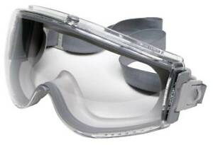 Like New UVEX Grey Safety Goggles