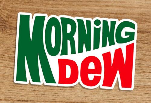 Grateful Dead Morning Dew 3x2 In Premium Quality Vinyl Sticker Jerry Garcia