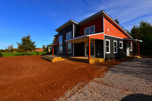 Brand New Waterfront Beach House 406 Moore Dr Victoria West PEI
