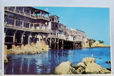 California CA Monterey Cannery Row Postcard Old Vintage Card View Standard Post Old California Postcards