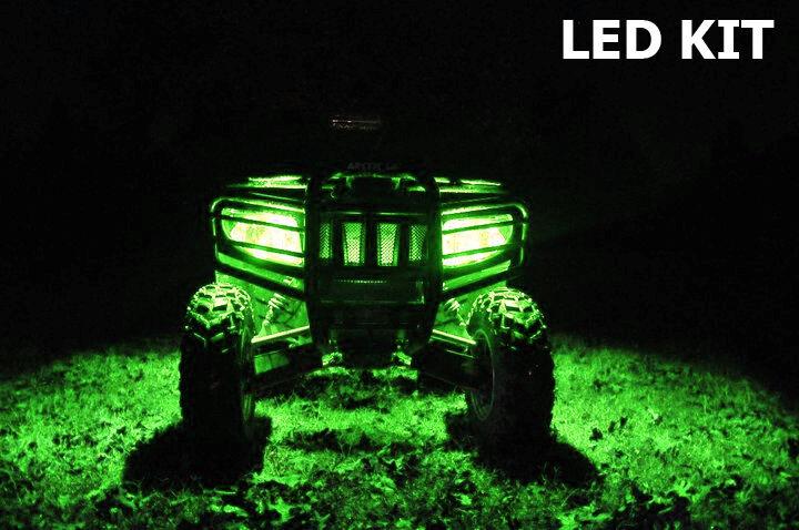 Best LED Kit Yamaha Raptor 90 250 350 660 700 ATV