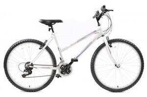 MARTINA CHEAPEST LADIES MOUNTAIN BIKE 18 SPEED WHITE 18