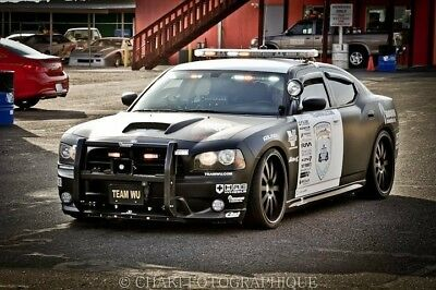 custom dodge charger vortech supercharged rally car interceptor Hre