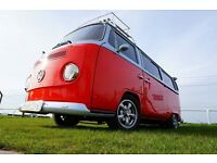 1975 RagTop Bay Window as featured in Decembers edition of Camper and Commerical, It's a stunner