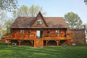 Luxury Log Home - The Perfect Cottage
