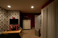 Large Bedroom Bsmt suite for Rent from Sept 1 at Saddlecrest NE