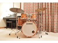 Yamaha Birch Maple Custom Absolute Shell pack 10/12/14/15 18/20/22 3 BASS DRUMS!