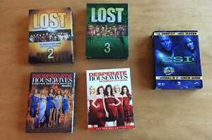 Lost, Desperate Housewives and CSI (DVDs)