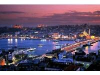 Flights to Istanbul 2 Adults includes flights and hotels in easter holidays