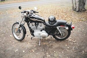 2003 HARLEY DAVIDSON 883 SPORTER 100TH ANNIVERSARY MOTORCYCLE CU