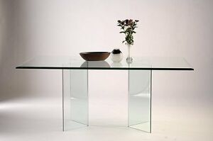 Large Bevelled glass top and base coffee table London Ontario image 8