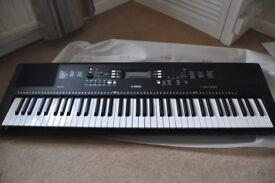 Yamaha PSR EW300 Keyboard comes with Stand and Stool