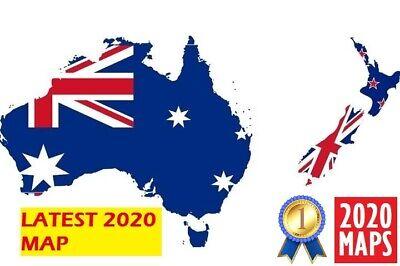 Latest Australia & New Zealand Compatible Map 2020 for Garmin GPSs