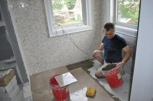 PROFESSIONAL TILE INSTALLATION - RESIDENTIAL & COMERCIAL Cambridge Kitchener Area image 7
