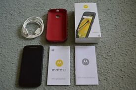 Motorola Moto E2 (Moto E 2nd Generation) UNLOCKED Smartphone WITH EXTRAS
