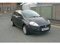 2009 Fiat Punto Grande, 1.4 Petrol, 5 Door, 12 Months Mot