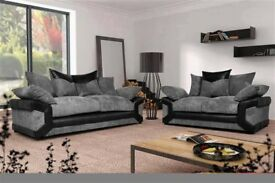 BRAND NEW SOFA DINO 3+2 SEATER & CORNER SET **1 YEAR WARRANTY ON SALE**
