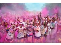 2 x colour run entry tickets for £25 LONDON Wembley Park big savings !!
