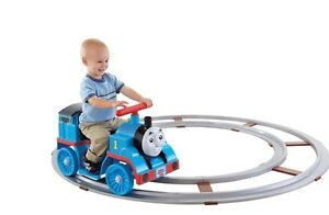 Fisher price ride on Thomas and track