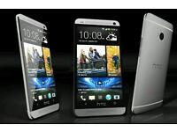 Used unlocked rooted htc one m7 silver