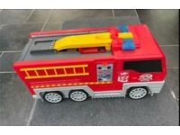 Fold Out Fire Engine Playset