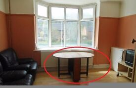 Wooden table and Foldup chairs For pickup - FREE - S6 3DJ
