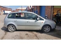 2005 FORD FOCUS C-MAX 1.8 petrol in SILVER - BREAKING FOR PARTS - PARTS FOR SALE - postage