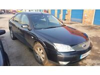 2006 FORD MONDEO 2.0 petrol 5 door in PANTHER BLACK - BREAKING FOR PARTS - PARTS FOR SALE - postage