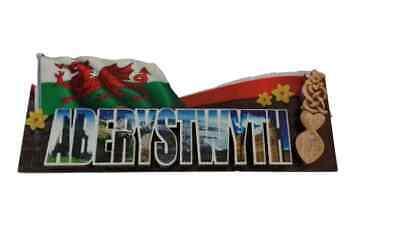 Aberystwyth Welsh Recuerdo Imán de Nevera