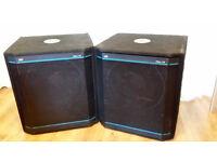 Peavey HiSys 115XT 'Black Widow' 700w RMS - Full Range or Sub - Speakers
