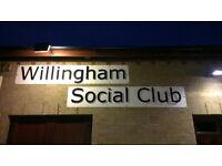 Club Steward/Stewardess wanted to run Willingham Social Club
