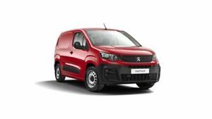 2020 Peugeot Partner K9 MY20 110 Low Roof SWB THP Red 6 Speed Manual Van