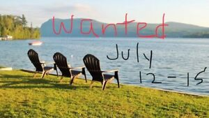 Wanted - summer getaway for our adult ladies group.