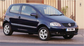 Black Volkswagen fox (like vw polo / up / lupo) - low mileage - priced for quick sale