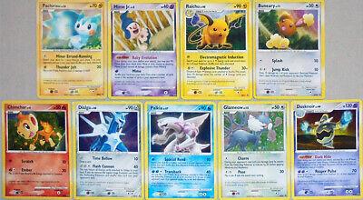 -Rare- 2007-2008 -Pokemon- Diamond & Pearl Holo Foil Promo TCG Card Lot w/Palkia