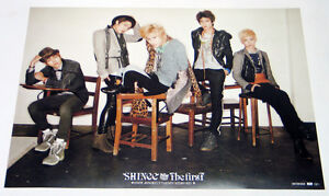 SHINee-THE-FIRST-Japan-PROMOTION-POSTER-with-Tube-Case-Type-B