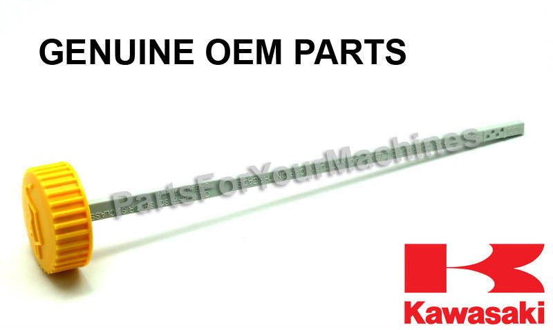 "OEM OIL DIPSTICK, KAWASAKI FD731V, 26HP ENGINES, 8-1/4"" LENGTH (GRAY PART), 10D8"