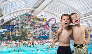 All day pass Galaxyland or Waterpark West Edmonton Mall