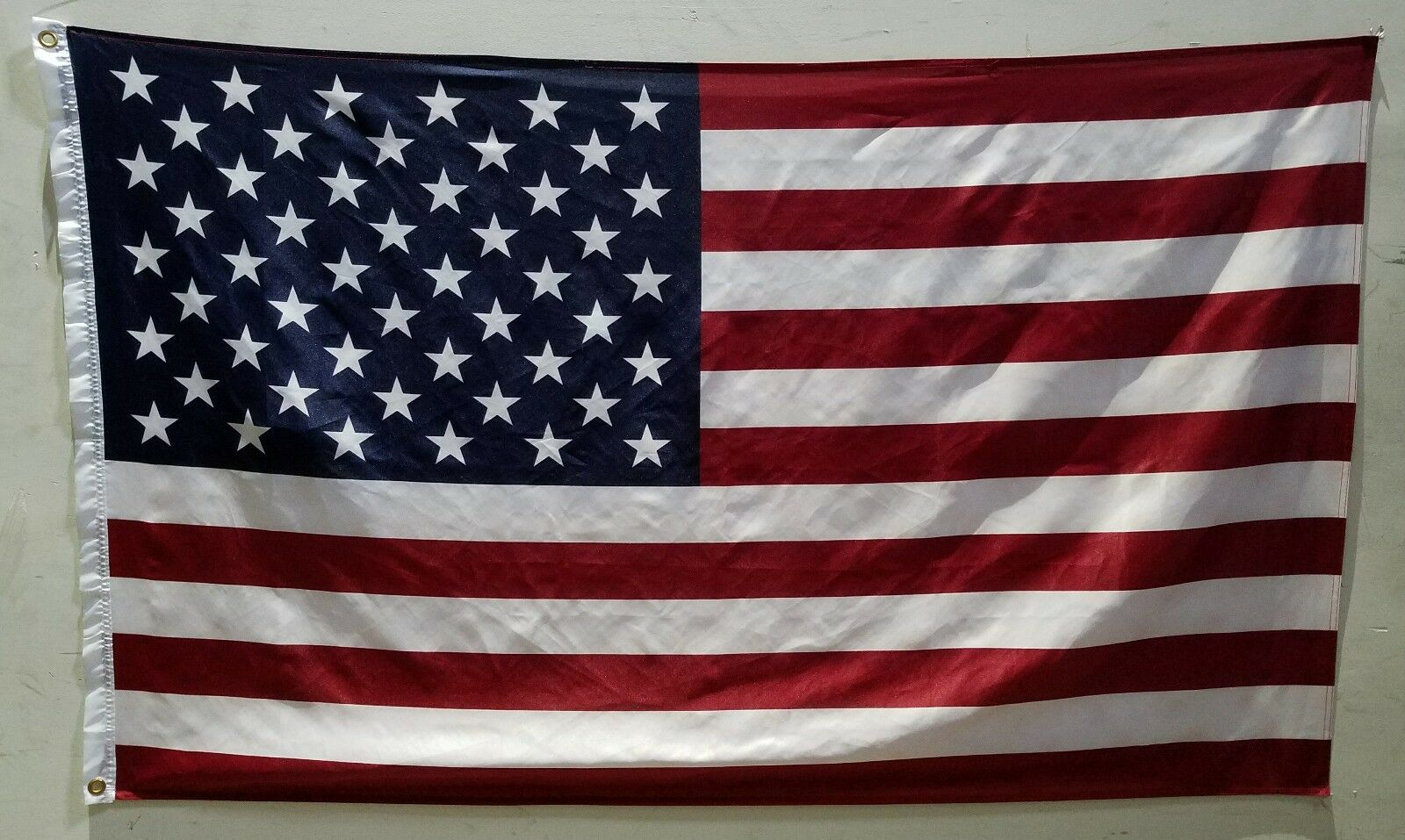 3 x 5 ft american flag brass