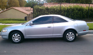 Wanted 1998-2002 Honda Accord Coupe 2.3l Manual Leather