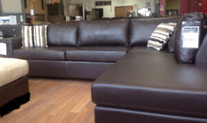 Brand new 2 pcs sectional is on sale for $1198+FREE COFFEE TABLE