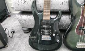 Aria electric guitar mac series may part exchange