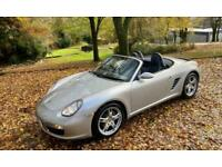 2006 Porsche Boxster FACELIFT 1OWNER 2009 ONLY 30,733 MLS UK DELIVERY NAV FSH BO