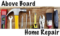 Above Board Home Repair And Handyman Services