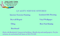 Atlantic Quality Painting and Maintenance Services
