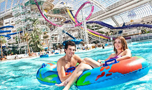 West Edmonton Mall - World Waterpark Passes - 3 in total